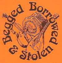 Begged Borrowed and Stolen, book cover
